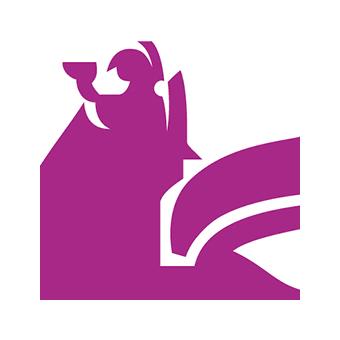 Logo: Kauppakorkeakoulun finanssivivahteinen graafinen elementti.
