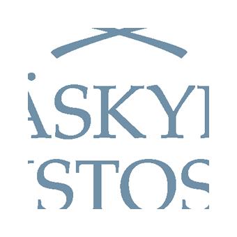 Logo: Yliopiston tukisäätiön tunnus modernein laakerinlehdin.